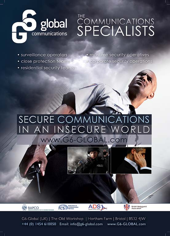 G6 Communications Specialist full page advertisement