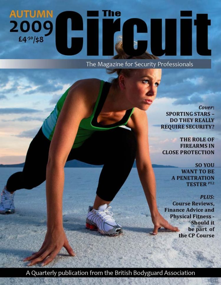 Circuit Magazine Cover - Sports Star Security