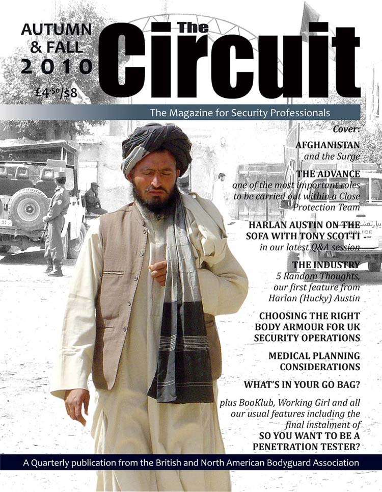 Circuit Magazine Cover - The Afghanistan Insurgence